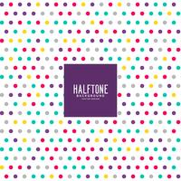 colorful dots pattern background design