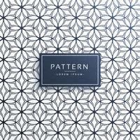 line flower pattern decoration background