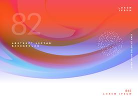 stijlvolle abstracte kleurrijke vector achtergrond