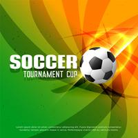 abstract shiny soccer championship tournament background