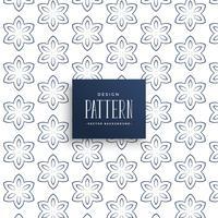 pattern background of line flower design