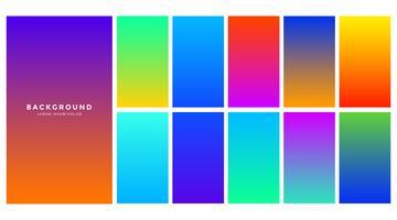 levendige abstracte kleurrijke gradient achtergrond