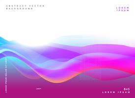 abstract purple poster design background