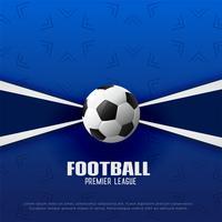 Fondo de campeonato de fútbol de primera división de fútbol