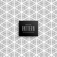 dekorative Linie Dreieck Muster Hintergrund