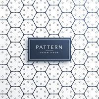motif de ligne élégante forme hexagonale