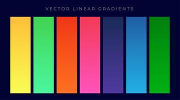 Conjunto de fondo de gradientes de color brillante moderno