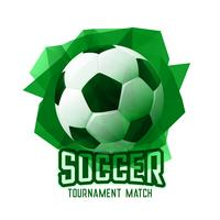abstract green football soccer tournament sports background