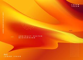 abstrait orange nuances vector background