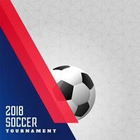 fundo de esportes de campeonato de futebol de 2018