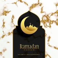 diseño hermoso festival islámico ramadan kareem