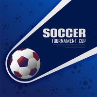 voetbaltoernooien voetbal sport poster achtergrond