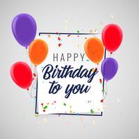 feliz aniversário festa festa fundo
