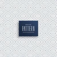 subtle hexagonal line pattern background