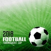 Fondo de fútbol de foorball en estilo abstracto