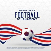 fotbollsmatch mästerskap turnering bakgrund med vågiga linjer
