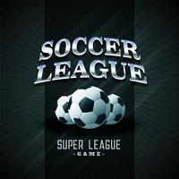 soccer league football black sports background