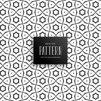 islamische Linie Musterhintergrund-Vektordesign