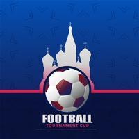 fond de championnat de football de la Russie 2018