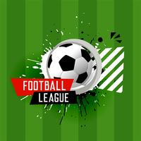 abstract football league banner background