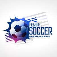 soccer league football championship background