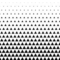triangle pattern vector background in black and white