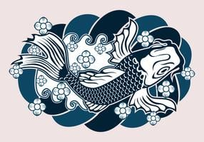 Japanese Tattoo Design vector
