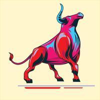 Bull español vector