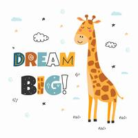 Dream Big Vector