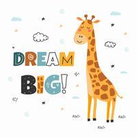 soñar con gran vector