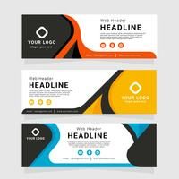 Company Web Header Vector