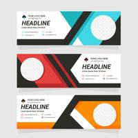 Corporate Web Header Template