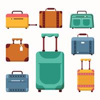 Gepäck-Vektoren