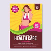 Health and Wellness Brochure Template