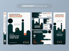 Orange Corporate Identity Set