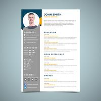 Grey And Orange Business Template