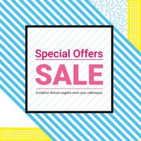 Vector Super Sale Offer Design