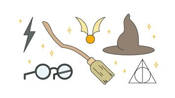 Harry Items Vector