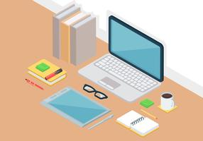 Isometric Workspace Vector Elements