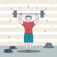 Bodybuilder Vector
