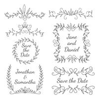 Wedding Element Floral Ornament