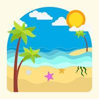 Papercraft da praia