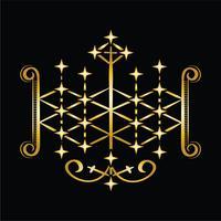 Symbole vaudou d'Ogoun