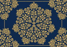 Decorative Ornaments Gold Vector
