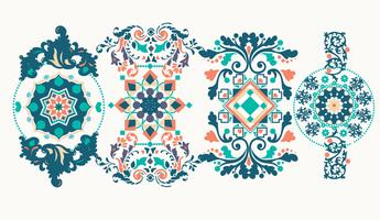 Decoratieve ornamenten Vol 2 Vector