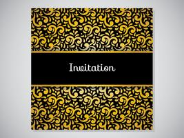 Elegant Abstract Decorative Invitation
