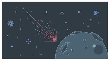 Vector de luna
