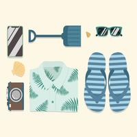 Beach-accessories-knolling