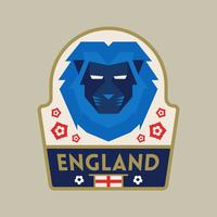 England World Cup Soccer Badges vector