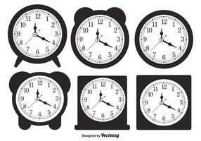 Desktop Clock Shapes